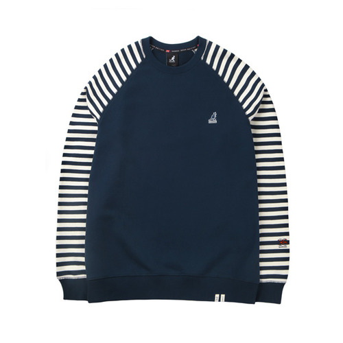Raglan Stripe T-Shirts 1529 NAVY